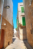 alleyway Molfetta La Puglia L'Italia Fotografia Stock