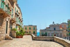 alleyway Molfetta La Puglia L'Italia Fotografie Stock