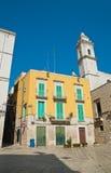 alleyway Molfetta La Puglia L'Italia Immagine Stock
