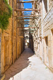 Alleyway. Molfetta. Puglia. Italy. Stock Images