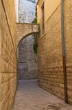 Alleyway. Molfetta. Puglia. Italy. Royalty Free Stock Image