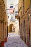 Alleyway. Molfetta. Puglia. Italy. Stock Image