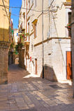 Alleyway. Molfetta. Puglia. Italy. Royalty Free Stock Photos