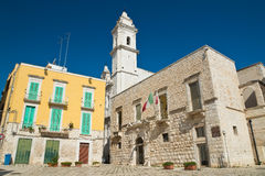 Alleyway. Molfetta. Puglia. Italy. Royalty Free Stock Photos