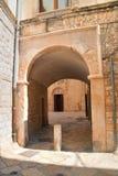 Alleyway. Molfetta. Puglia. Italy. Royalty Free Stock Photo