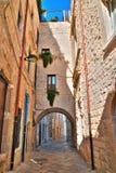 Alleyway. Molfetta. Puglia. Italy. Stock Photography