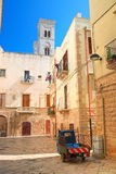 Alleyway. Molfetta. Puglia. Italy. Stock Photo
