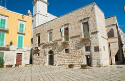Alleyway. Molfetta. Puglia. Italy. Stock Images