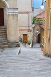alleyway Moliterno La Basilicata L'Italia Fotografia Stock