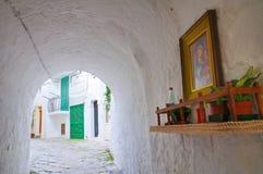 Alleyway. Monopoli. Puglia. Italy. Royalty Free Stock Image
