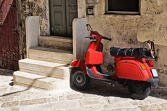 Alleyway. Monopoli. Puglia. Italy. Royalty Free Stock Images