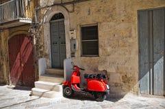 Alleyway. Monopoli. Puglia. Italy. Stock Images