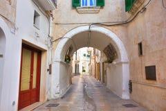 Alleyway. Monopoli. Puglia. Italy. Stock Photos