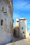 Alleyway of Monopoli. Puglia. Italy. Stock Images