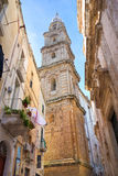 Alleyway of Monopoli. Puglia. Italy. Royalty Free Stock Photo