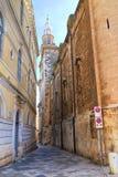Alleyway of Monopoli. Puglia. Italy. Stock Image