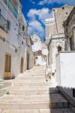 Alleyway. Monte Sant'Angelo. Puglia. Italy. Royalty Free Stock Photos
