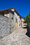 Alleyway. Montebello. Emilia-Romagna. Italy. Stock Images