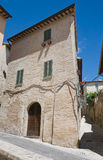 Alleyway. Montefalco. Umbria. Stock Photos