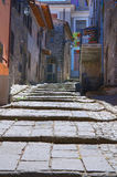 Alleyway. Montefiascone. Lazio. Italy. royalty free stock image