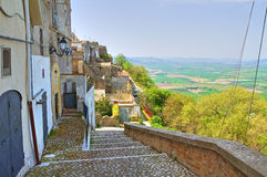 Alleyway. Montescaglioso. Basilicata. Italy. Stock Image