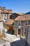 alleyway Morano Calabro Calabrië Italië Royalty-vrije Stock Afbeeldingen