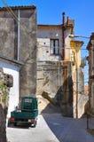 alleyway Morano Calabro Calabrië Italië Stock Afbeeldingen
