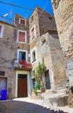 alleyway Morano Calabro Calabria Italy Imagens de Stock