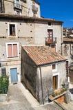 Alleyway. Morano Calabro. Calabria. Italy. Stock Photography