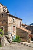 Alleyway. Morano Calabro. Calabria. Italy. Stock Photos
