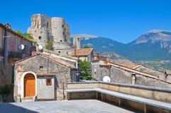 alleyway Morano Calabro La Calabria L'Italia Immagini Stock Libere da Diritti