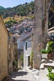 alleyway Morano Calabro La Calabria L'Italia Immagini Stock