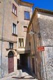 alleyway Morano Calabro La Calabria L'Italia Fotografia Stock