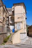 alleyway Morano Calabro La Calabria L'Italia Immagine Stock