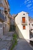 alleyway Morano Calabro La Calabria L'Italia Fotografie Stock