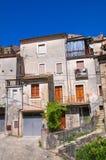 alleyway Morano Calabro La Calabria L'Italia Fotografia Stock Libera da Diritti