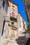 alleyway Morano Calabro La Calabria L'Italia Immagine Stock Libera da Diritti