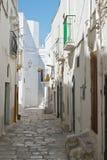 Alleyway. Mottola. Puglia. Italy. Stock Photos