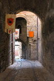Alleyway. Narni. Umbria. Italy. Stock Photography