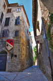 Alleyway. Narni. Umbria. Italy. Royalty Free Stock Image