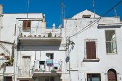 alleyway Noci Puglia Italië Royalty-vrije Stock Afbeelding