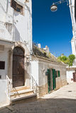 Alleyway. Noci. Puglia. Italy. Stock Images