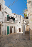 Alleyway. Noci. Puglia. Italy. Stock Photos