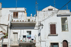 alleyway Noci Puglia Włochy Obraz Royalty Free
