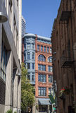 Alleyway Opens On Pioneer Square in Seattle Stock Images