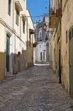 Alleyway. Oria. La Puglia. L'Italia. Fotografia Stock