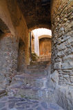 Alleyway. Oriolo. Calabria. Italy. Royalty Free Stock Images