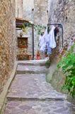 Alleyway. Oriolo. Calabria. Italy. Stock Image