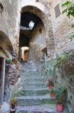 alleyway Oriolo La Calabria L'Italia Fotografie Stock