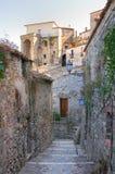 alleyway Oriolo La Calabria L'Italia Fotografie Stock Libere da Diritti